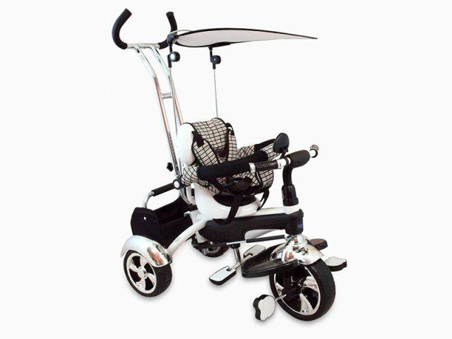 Tricicleta copii Baby Mix GR01 White