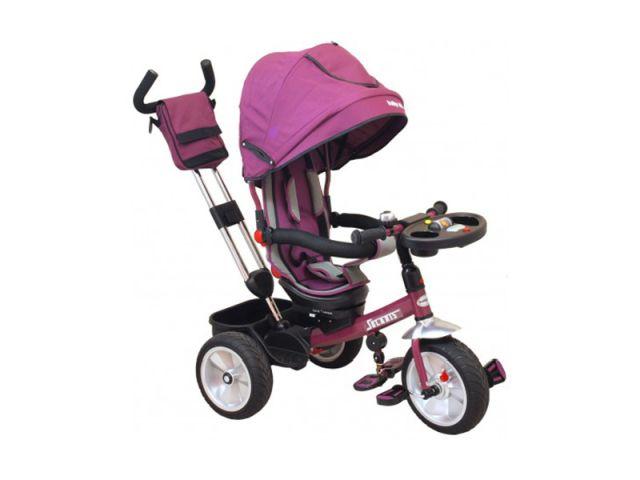 Tricicleta copii cu Scaun Reversibil Baby Mix Solaris B50