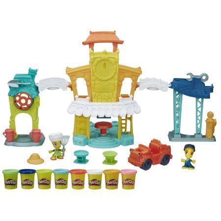 PlayDoh-Set creatie,Town,centrul orasului