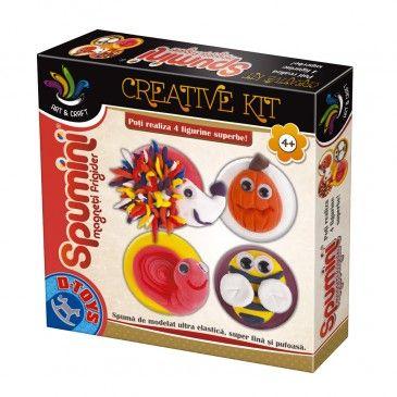Spumini-Set creatie,Magneti frigider