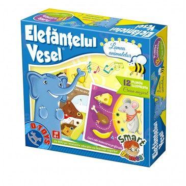 Joc Elefantelul vesel,Lumea animalelor