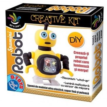 Spumini-Set creatie,Robot,div. modele