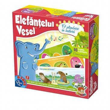Joc Elefantelul vesel,Plimbare...