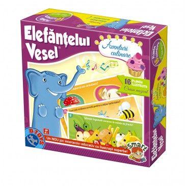 Joc Elefantelul vesel,Aventuri culinare