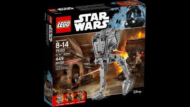 Lego-StarWars,AT-ST Walker