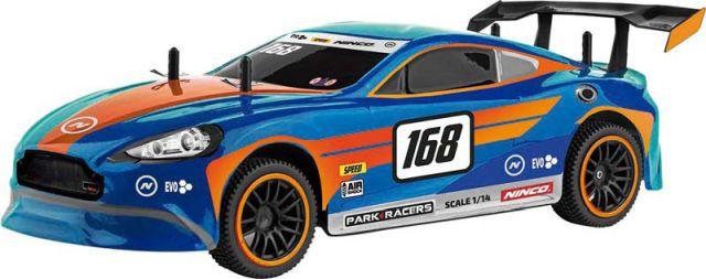 Masina Ninco,RC,curse,super GT1,1:14,albastru