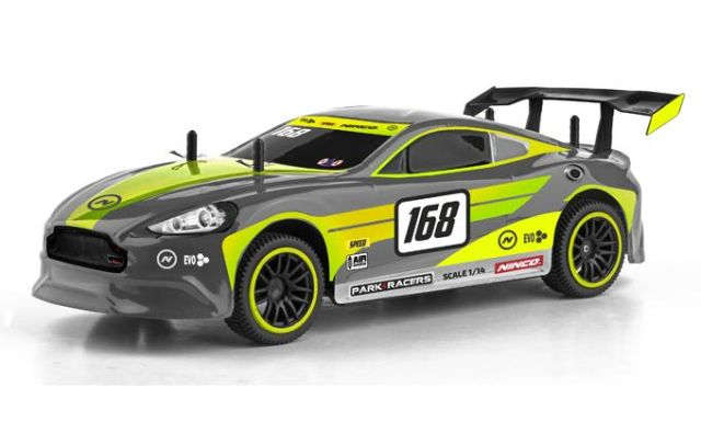 Masina Ninco,RC,curse,super GT1,1:14,auriu