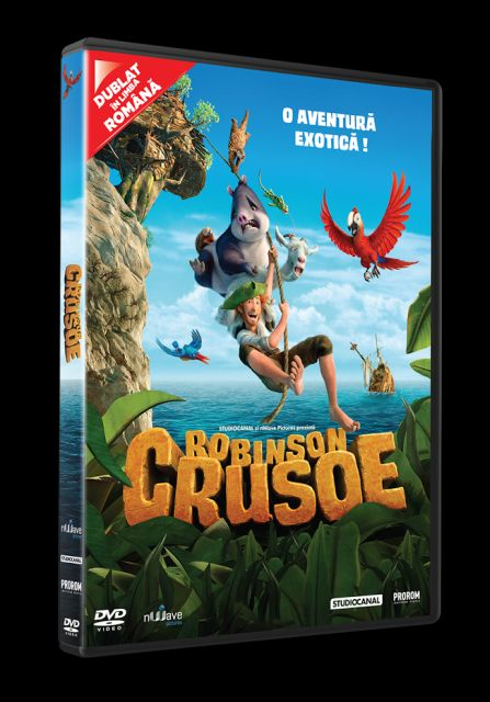 ROBINSON CRUSOE DVD - ROBINSON...