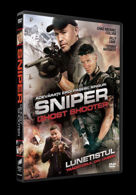 SNIPER: GHOST SHOOTER DVD - LUNETISTUL: TRAGATORUL DIN UMBRA