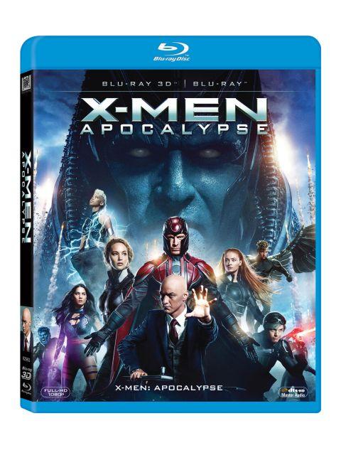 BD: X-MEN: APOCALYPSE COMBO (3D+2D)