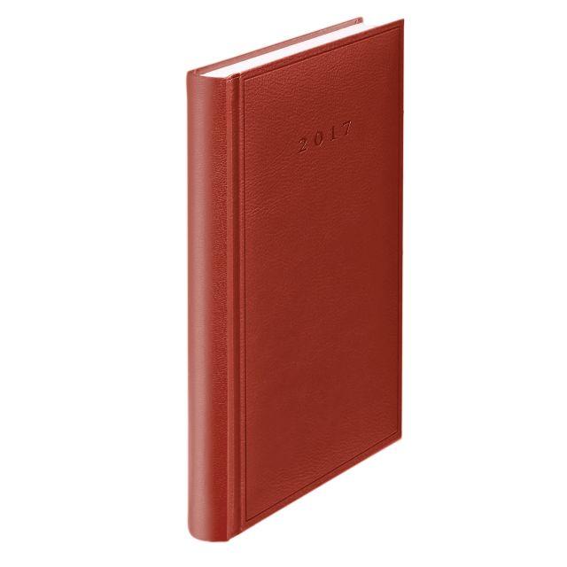 Agenda A5,datata,Standard,zilnica,352p,rosu