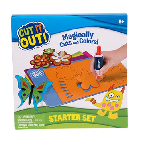Cut it out,Set starter,marker 2buc/set,suport,hartie
