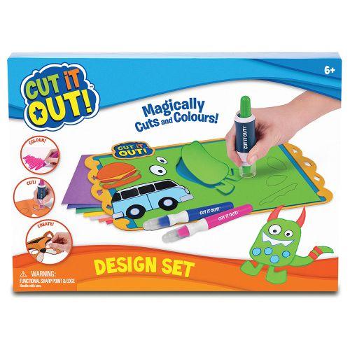 Cut it out,Set design,marker 4buc/set,suport,covoras