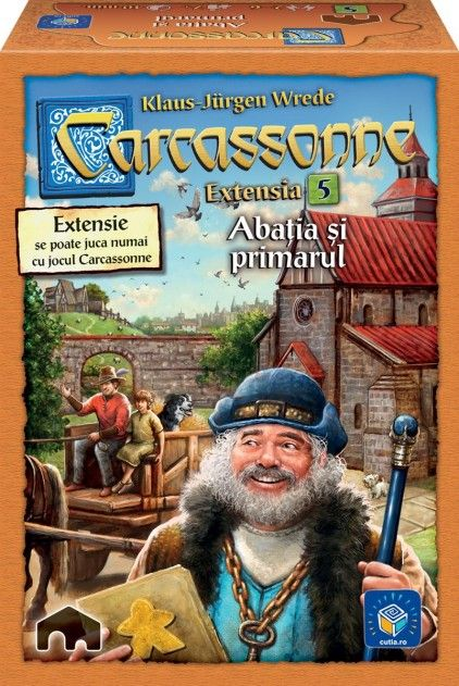 CARCASSONNE II, EXTENSIA 5, RO