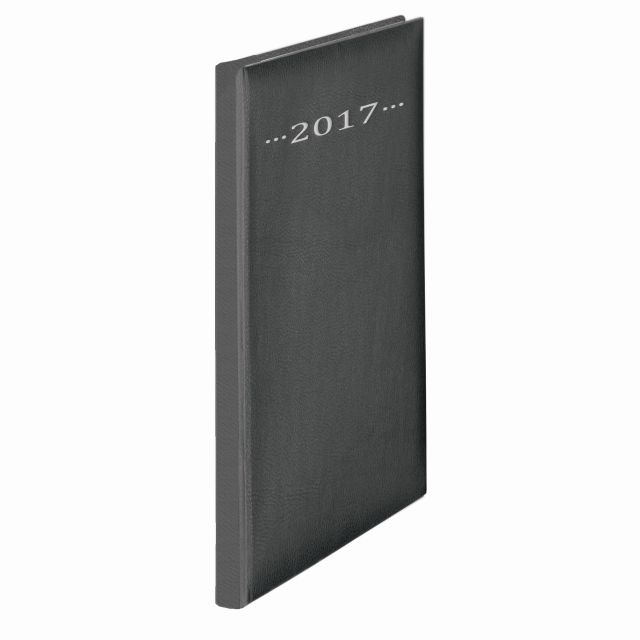 Agenda A4,datata,Herlitz,128p,negru