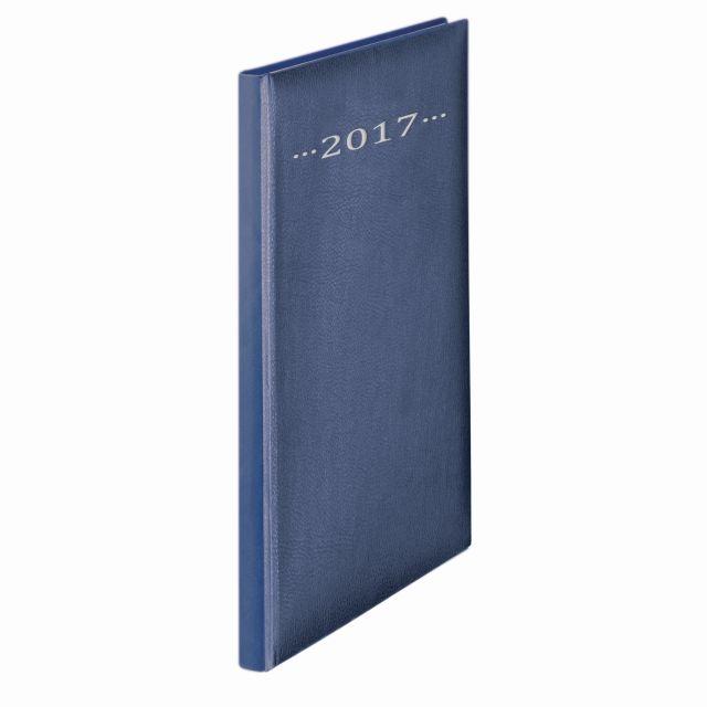 Agenda A4,datata,Herlitz,128p,albastru