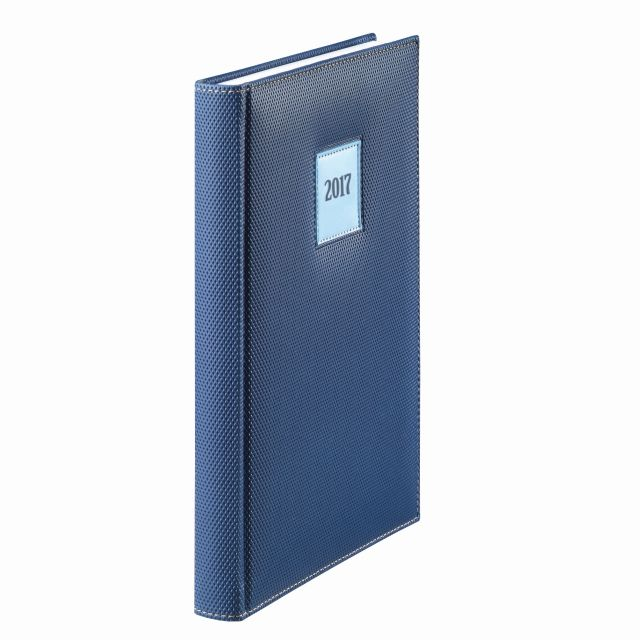 Agenda A5,datata,Herlitz,DeLuxe,albastru