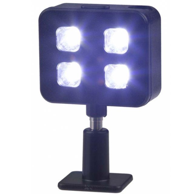 Blit LED-uri pentru smartphone-uri, mufa 3.5mm, Negru