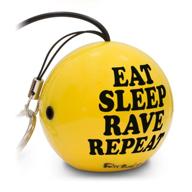 Boxa portabila KitSound Mini Buddy Fatboy Slim Eat Sleep Rave Repeat