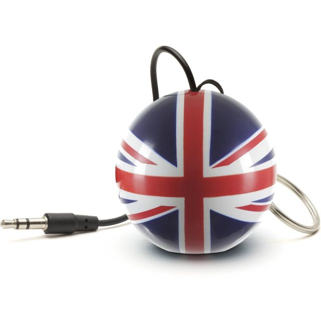 Boxa portabila KitSound Mini Buddy Union Jack
