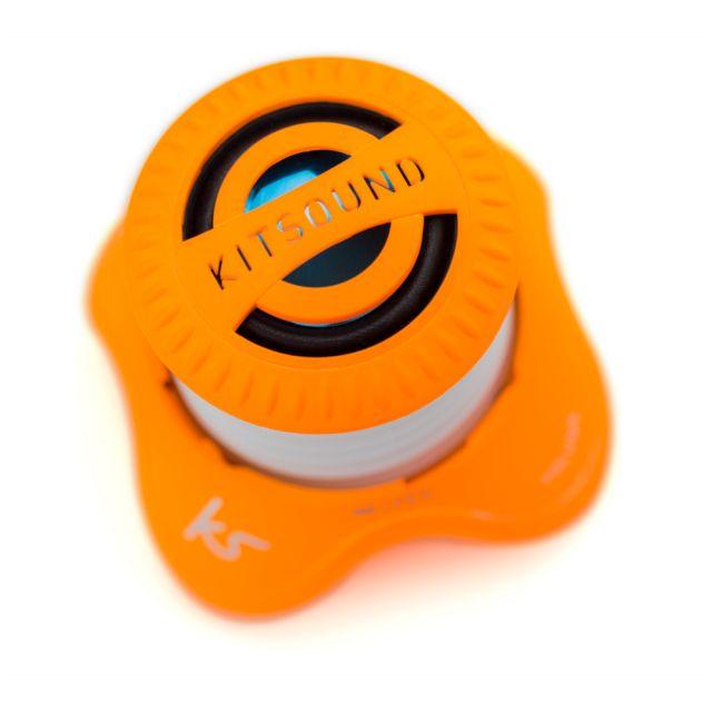 Boxa portabila KitSound Invader, cu fir, Orange