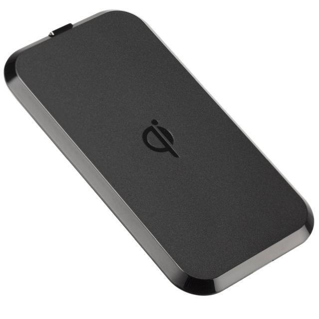 Placa de incarcare wireless premium, 1000 mAh, Negru