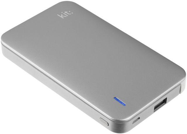 Baterie portabila 8200mAh, Apple Lightning MFI, Argintiu