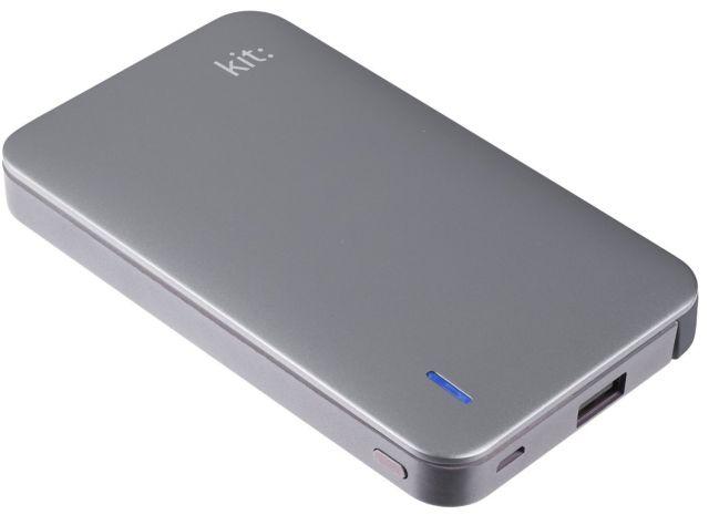 Baterie portabila 8200mAh, Apple Lightning MFI, Gri (Space Grey)