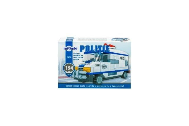 Momki-constructie,Politie,vehicul interventie,194pcs