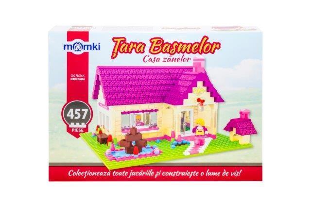 Momki-constructie,Basme,casa zanelor,457pcs
