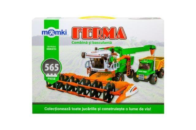 Momki-constructie,Ferma,combina si basculanta,565pcs