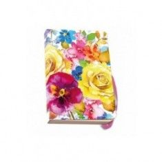 Agenda 9.5x15cm,Flowers
