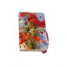 Agenda 9.5x15cm,Poppies,Carla Rodenberg