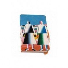 Agenda A5,Meisjes in een veld,Malevich