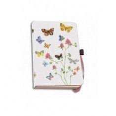 Agenda A6,Flowers,Butterflies,Birds