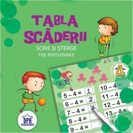 TABLA SCADERII CU CARIOCA