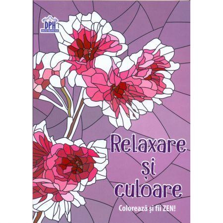 RELAXARE SI CULOARE (CARTE DE COLORAT ANTISTRES)