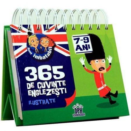 CALENDAR 'SUNT IMBATABIL' 365  DE CUVINTE ENGLEZESTI ILUSTRATE 7-9 ANI