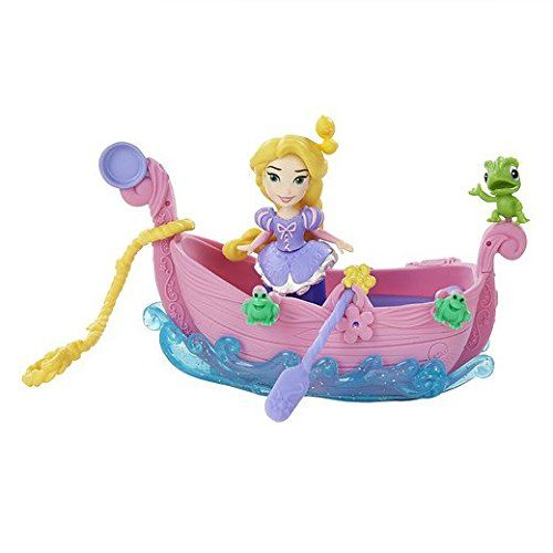 Papusa Disney,Princess mini,barca plutitoare,div.mod.