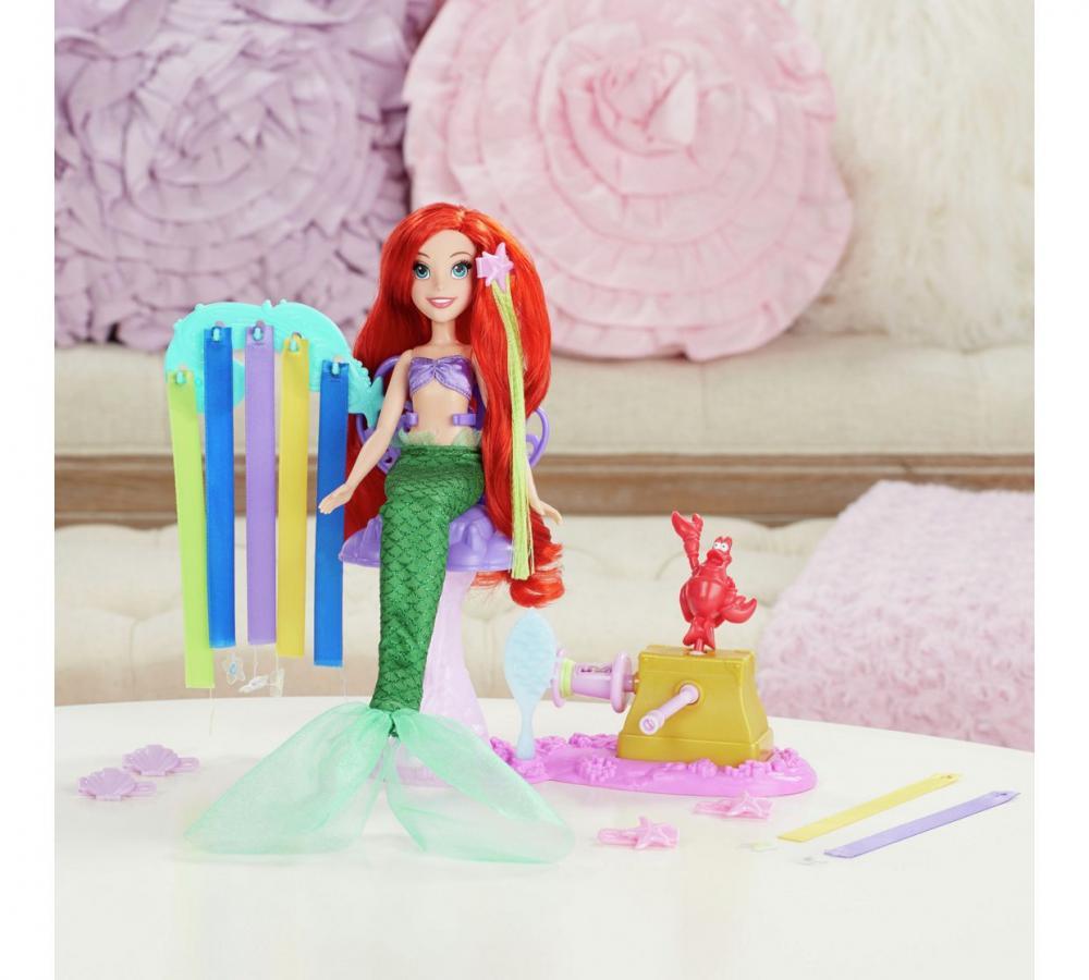Papusa Disney,Princess,set joaca cu parul