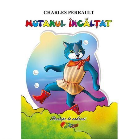 CARTE DE COLORAT X5 - MOTANUL INCALTAT