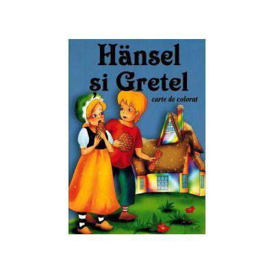 CARTE DE COLORAT X5 - HANSEL SI GRETEL