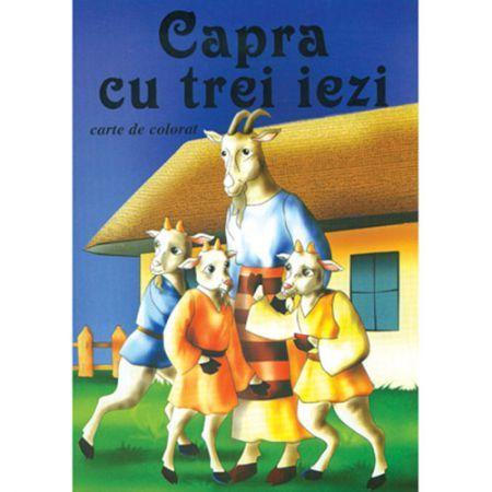 CARTE DE COLORAT X5 - CAPRA CU 3 IEZI