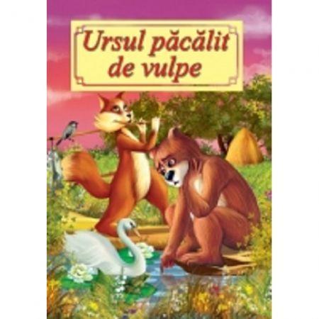 CARTE ILUSTRATA A4 - URSUL PACALIT DE VULPE
