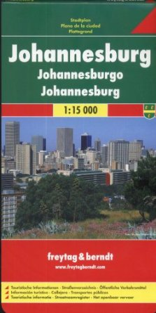 Johannesburg, Pocket Map, 1:15.000, ***