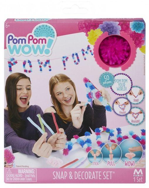 Pom Pom Wow-Acesorii decorat,scrisori,50buc/set