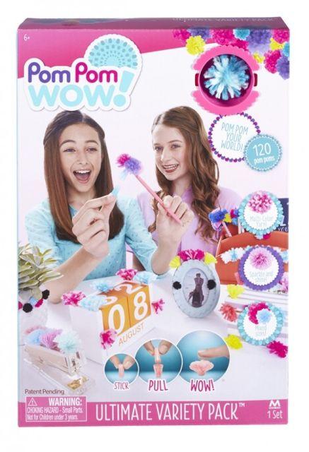 Pom Pom Wow-Acesorii decorat,variety pack,120buc/set
