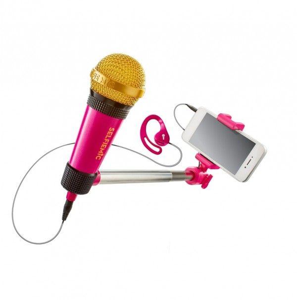 Microfon magic,cu selfie stick