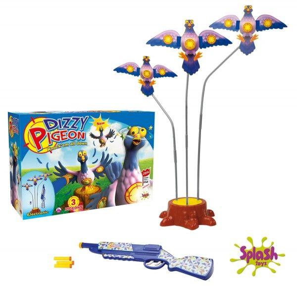 Joc Porumbelul ametit,3 porumbei