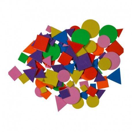 Figurine Moosgummi,7g,figuri geometrice,110buc/set